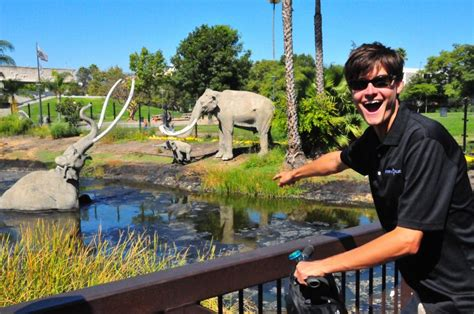miss history travels to la tar pits museum books another side of los angeles tours the la tar pits