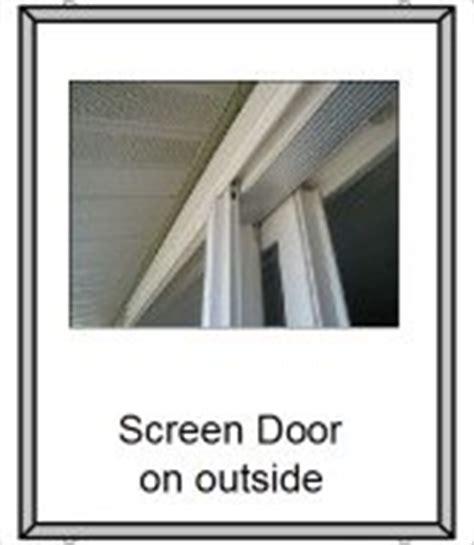 How To Remove A Screen Door by Your Sliding Door Screen And How To Fix It If It S Broken
