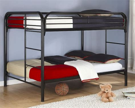 coaster furniture bunk bed coaster furniture full over full bunk bed in black fordham