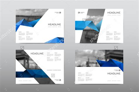 horizontal brochure template 27 horizontal brochure templates free psd ai eps