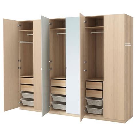 www ikea usa com pax wardrobe white stained oak effect nexus vikedal