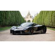 Matte Black LaFerrari Horse From Hell Sells For $47M At Auction