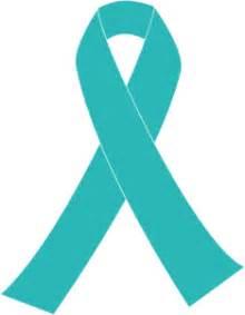 cervical cancer color ribbon for cervical cancer clip at clker vector