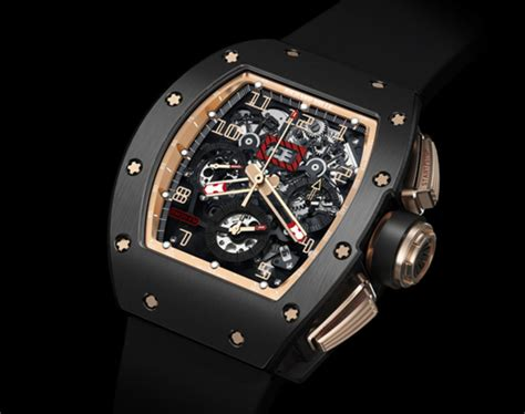 richard mille am 011 ag 011 72661 richard mille rm 011 felipe massa flyback chronograph
