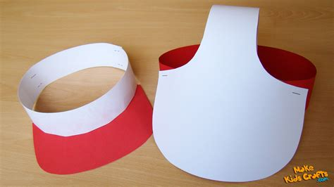 How To Make A Baseball Cap Out Of Paper - how to make a paper cap diy