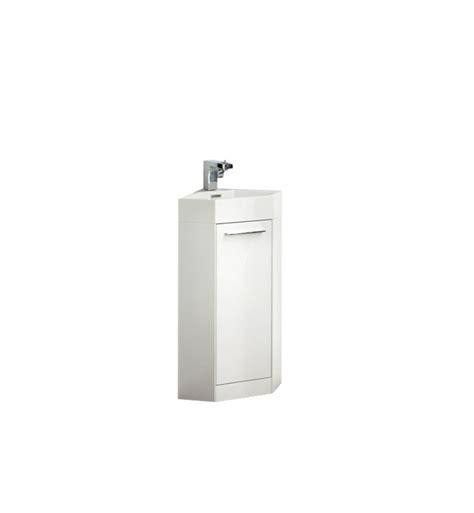 14 Bathroom Vanity 14 inch white modern corner bathroom vanity with optional