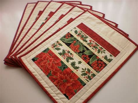 Patchwork Table Mats Pattern - 1000 images about placemats on
