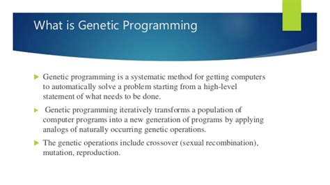 guide to competitive programming learning and improving algorithms through contests undergraduate topics in computer science books introduction to genetic programming