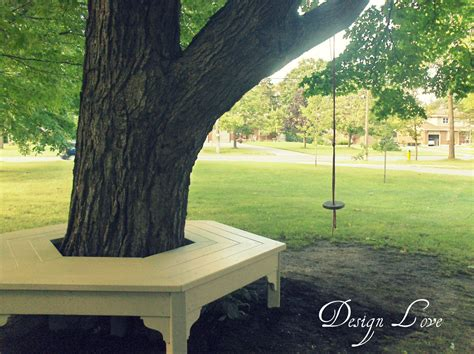 bench around a tree design design love martha s tree bench