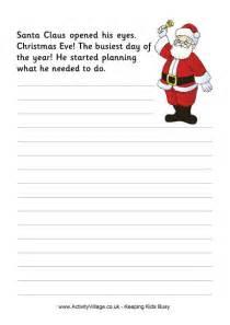 christmas story starter santa claus