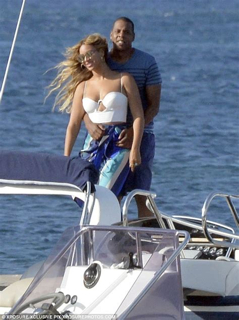 Beyonces On A Yacht by Beyonce And Z Enjoy European With