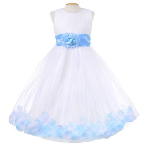 light blue flower dresses light blue toddler flower dresses baby blue flower