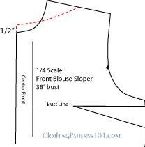 boat neck top dress pattern how to draft a boatneck or bateau neckline