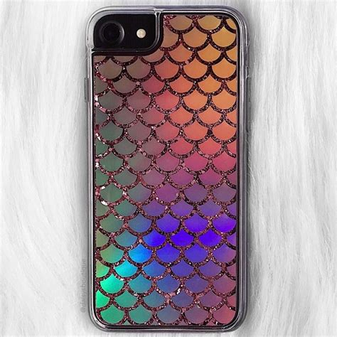 Glitter Instinct Iphone All Hp daisys boutique accessories holographic mermaid scales glitter iphone 7 poshmark