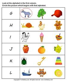 Jolly Phonics Flashcards Letter Sounds G To L Worksheet Turtle Diary