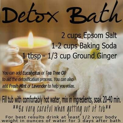 Sweat Detox Results by Just Did This Detox Bath As Heck And Pretty Miserable