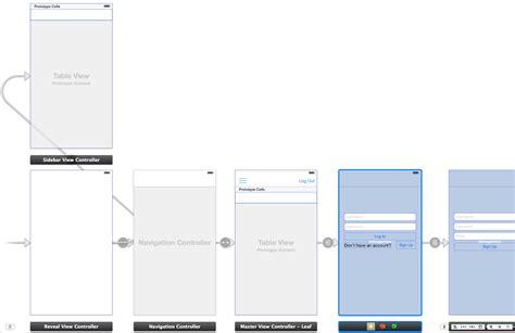 menu layout stack overflow ios sidebar navigation menu on storyboard stack overflow