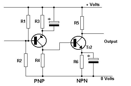 transistor lifier tutorial directly coupled lifier tutorial circuits junction transistors electronic hobby projects