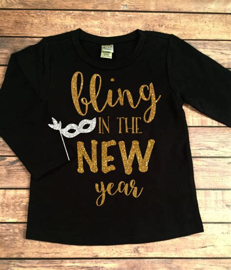 new year shirt bling in the new year new years shirt 2018 new year shirt