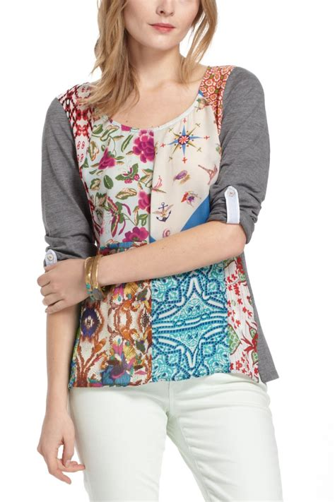 Patchwork Top - milieu patchwork top anthropologie aspirational fashion