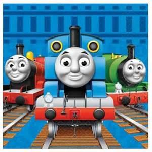 good Thomas The Train Bedroom Decor #1: thomas-friends-birthday-party-supplies-luncheon-napkins-1.jpg