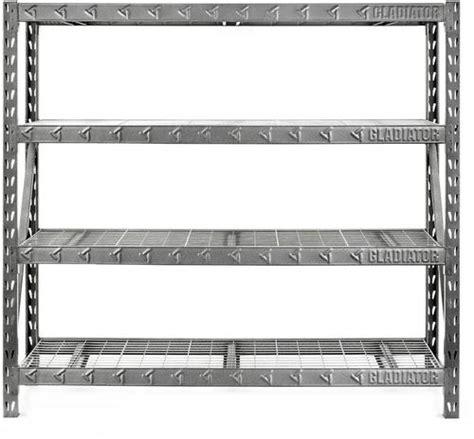 gestell regal gladiator 77 quot heavy duty rack shelf gray gars774xeg best buy