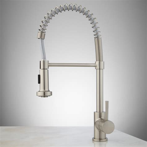 Pre Rinse Kitchen Faucet Moen Professional Kitchen Faucets Trends Also Pictures