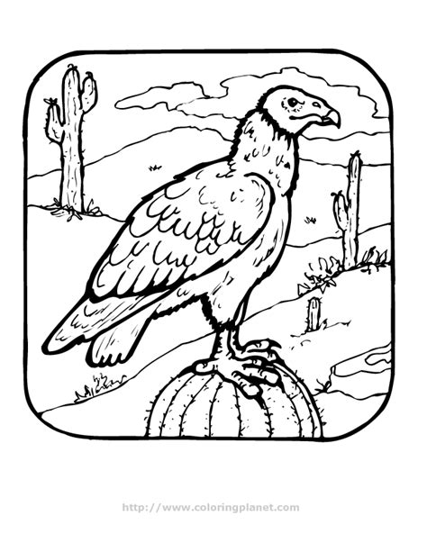 desert coloring pages for kids az coloring pages vulture in the desert printable coloring in pages for kids