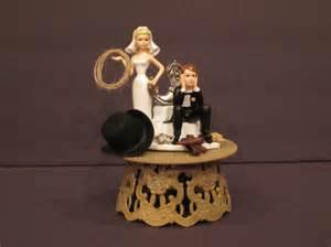 cowboy cake topper cowboy western rope gun boot wedding cake topper by starglazer