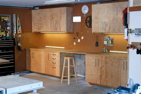 building plywood cabinets for garage building garage cabinets plywood garage