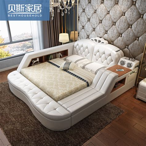 european bed usd 788 48 massage leather bed tatami bed leather bed