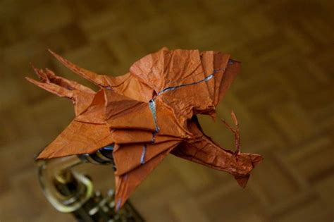 Great Origami - origami great leonopteryx by blackblade shinobi on deviantart