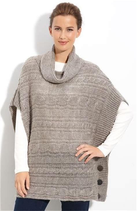 knitted poncho the world s catalog of ideas