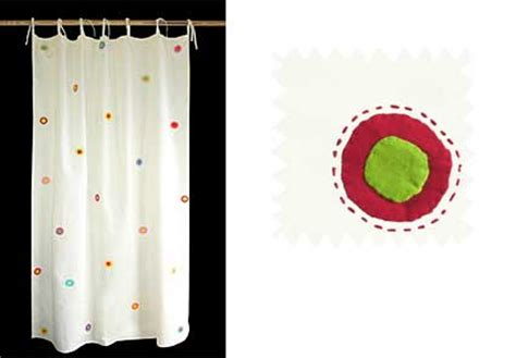 fair trade curtains chandni chowk organic cotton spot applique curtain hand