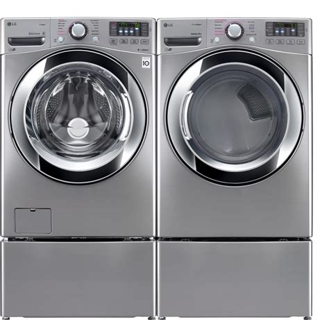 washer with lg wm3670hva 27 inch 4 5 cu ft front load washer with