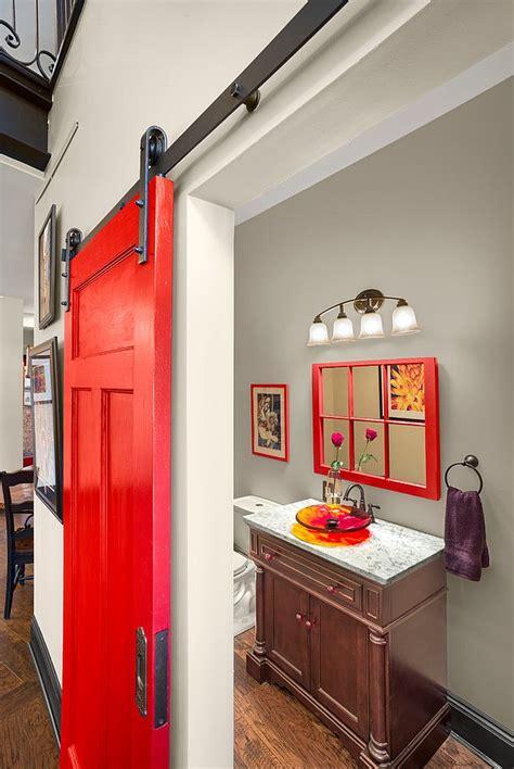Barn Door Ideas For Bathroom by 15 Sliding Barn Doors That Bring Rustic To The Bathroom