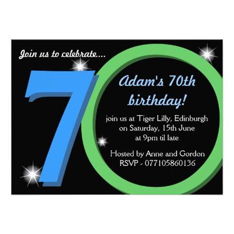 70th Birthday Party Invitations Ideas For Him Bagvania Free Printable Invitation Template 70th Birthday Invitation Template Word