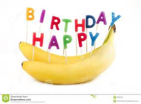 happy birthday bananas royalty free stock images image
