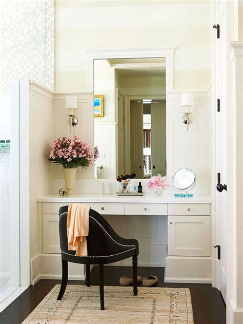 vanity area in bedroom new home interior design bathroom makeup vanity ideas