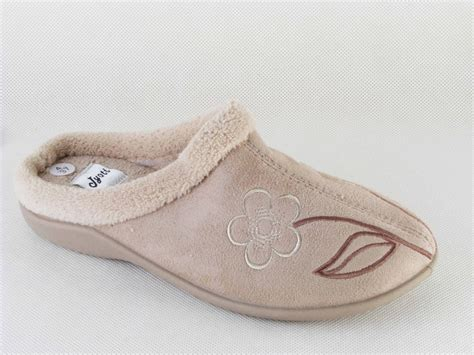 house slippers womens ladies light brown mule slippers by tyoti womens house shoes ebay