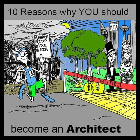 10 reasons why you should become an architect