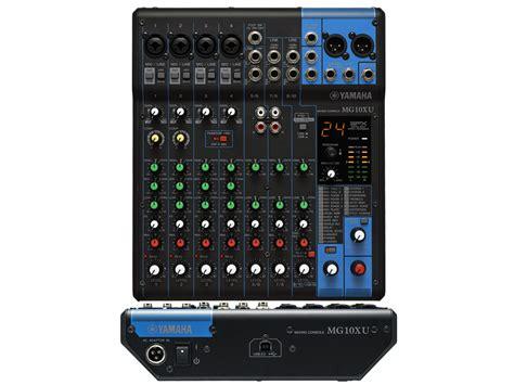 Mixer Yamaha Mg 10 Xu musik markt bad saulgau yamaha mischpult mg 10 xu mit