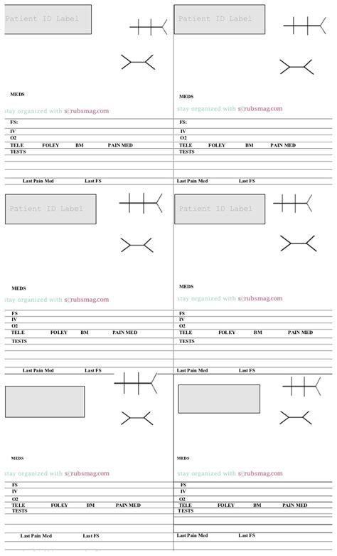 Med Surg Report Sheet Templates by Med Surg Nursing Report Sheet Template