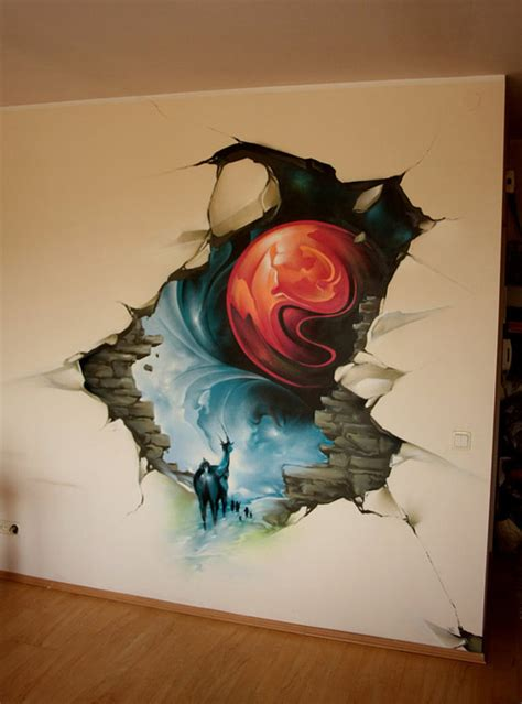 awesome  creatively expressive graffiti artworks