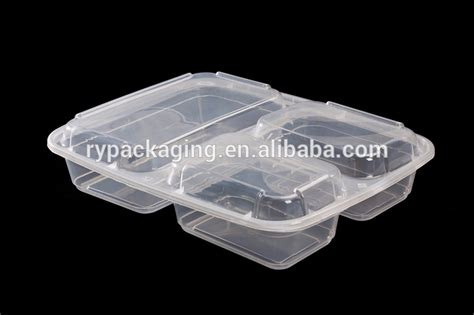 Multi Section Food Containers by Disposable Plastic Food Containers Deli Food Storage
