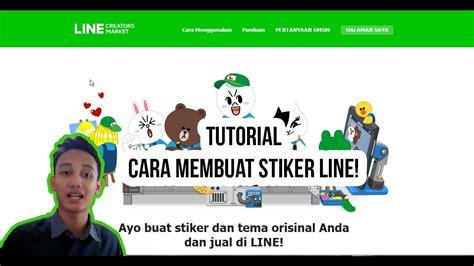 cara membuat stiker line bersuara tutorial cara membuat stiker line line creator youtube