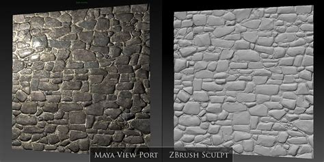 zbrush brick tutorial zbrush brick and stone wall sculpts perfect sphere