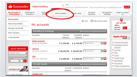 santander bank de banking santander banking uk you can on on the