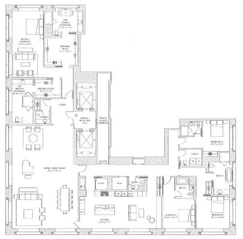 432 park ave floor plans new york 432 park avenue drake hotel dev 1 398 ft