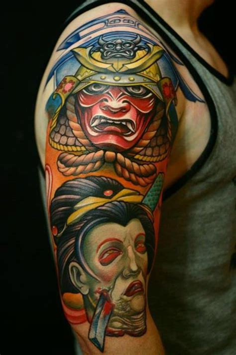 shogun tattoo designs 65 shogun inspired samurai tattoos pictures